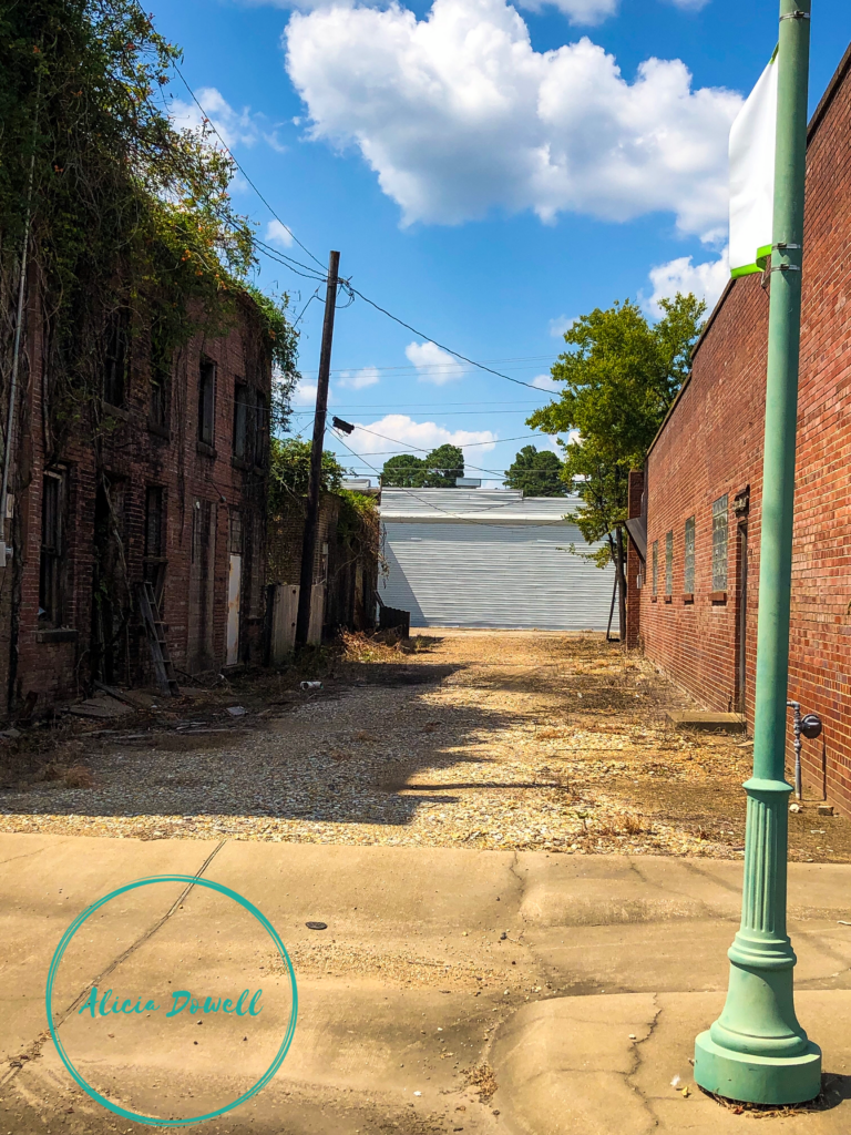 Alley Small town