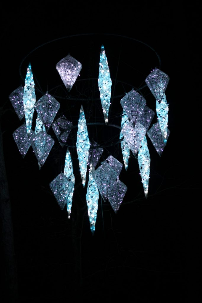 Crystals in lights
